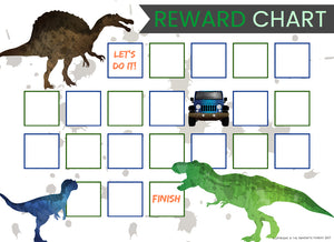 Reward Chart Options (Boys)