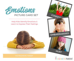 Emotion Picture Card Set for Kids
