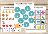 PreK/Kindergarten Learning BUNDLE (79 Worksheets)
