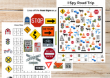 Road Trip Game Pack for Kids