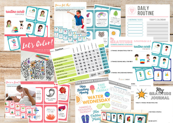 Summer Family Kit - Routines & Activity Bundle