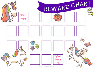 Reward Chart Options (Girls)
