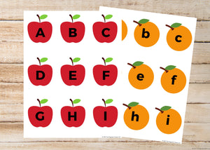 Upper & Lower Case ABC Matching Activity