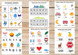 ABCs / Phonics / Rhyming BUNDLE (45 Worksheets)