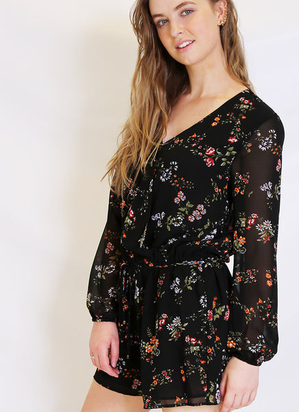 Winter Garden Romper