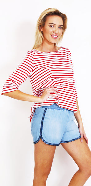 Hello Sailor Swing Tee