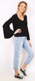 Belle Sleeve Knit
