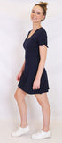 Jonie dress- Navy