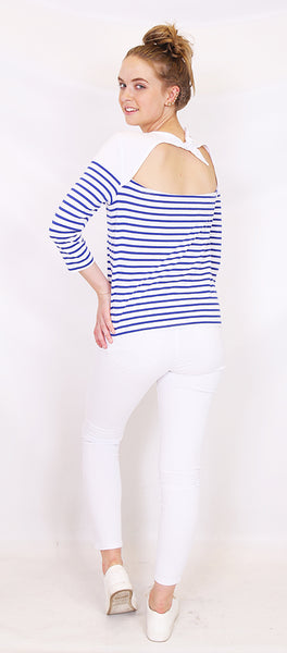 Tie back Sailor top