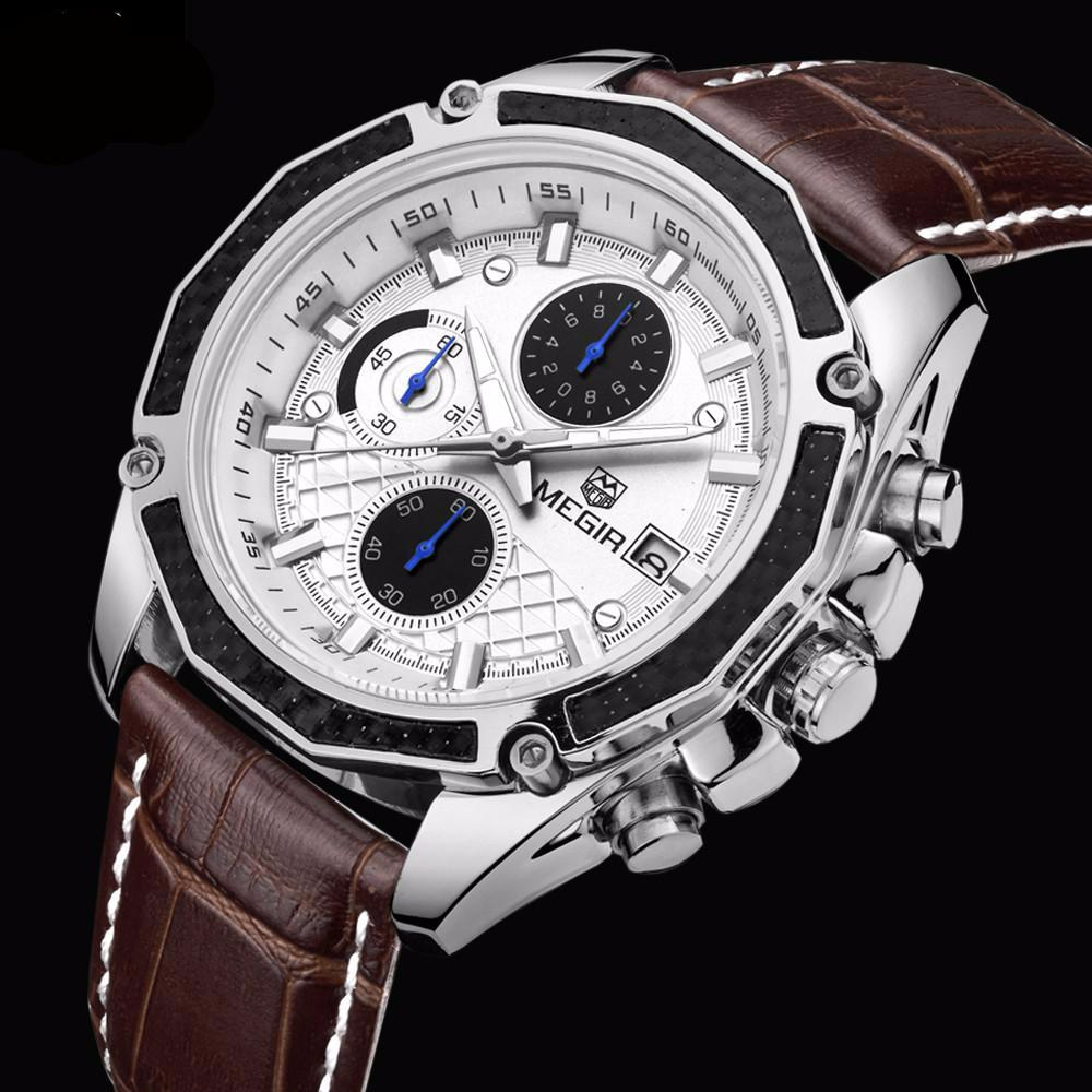 Luxury Leather Quartz-watch
