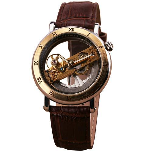 Luxury Golden Bridge Men's Watch