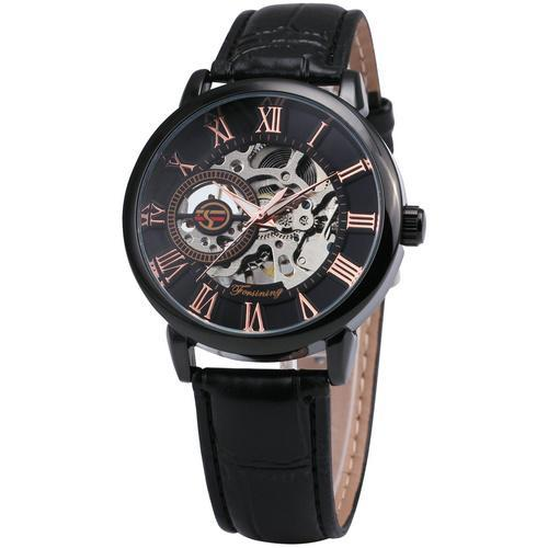 Black Gold Mechanical Watch
