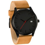 Casual Leather Quartz Watch