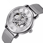 Skeleton Dial Mechanical Watch