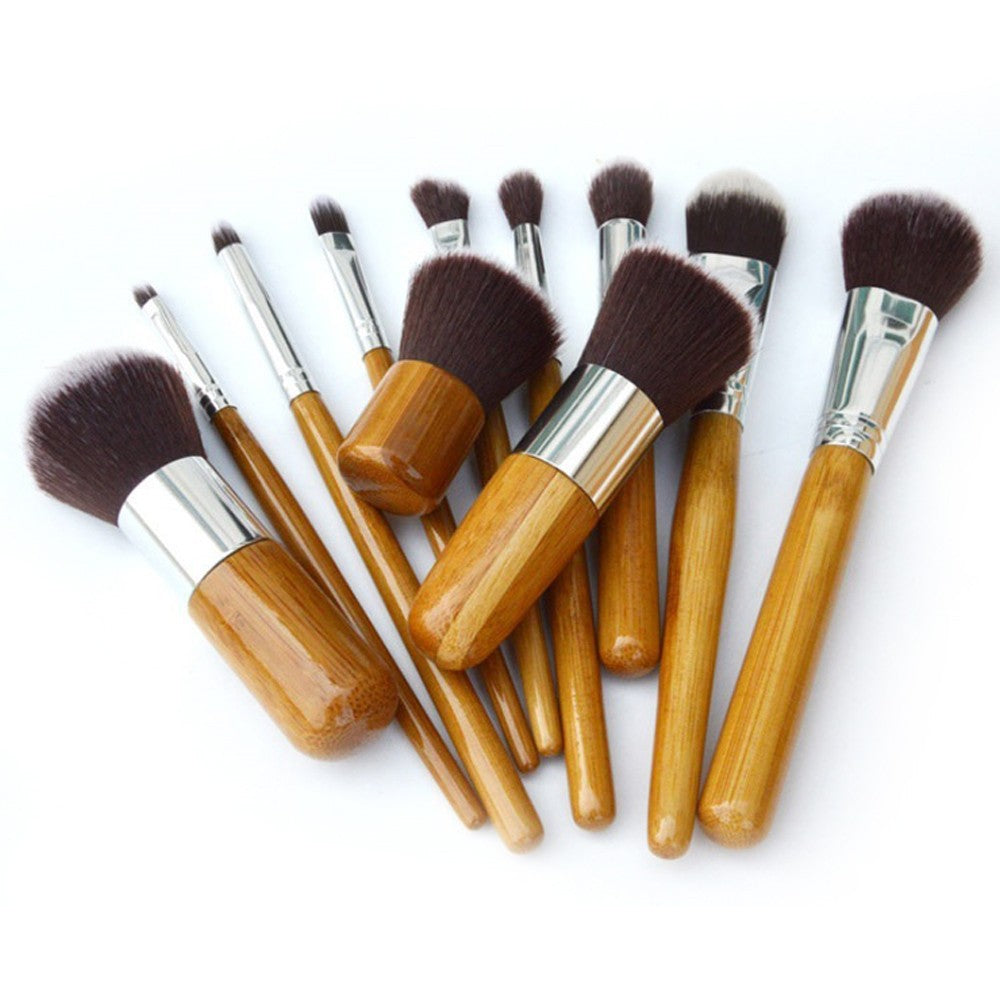 11 Bamboo Brush Set