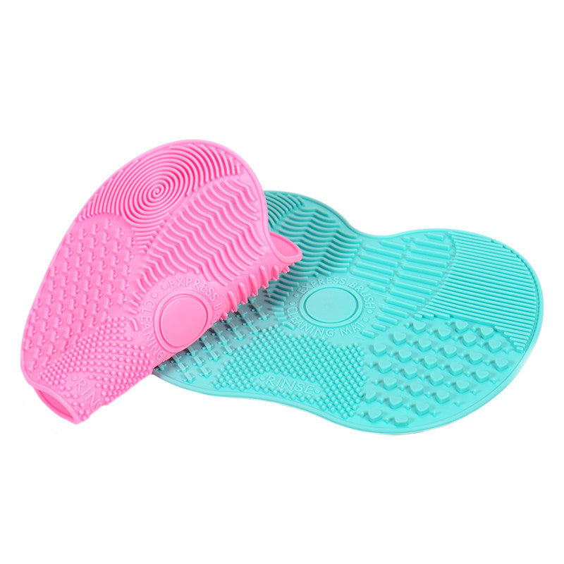 Silicone Brush Cleaning Mat [Shop 6 colors]