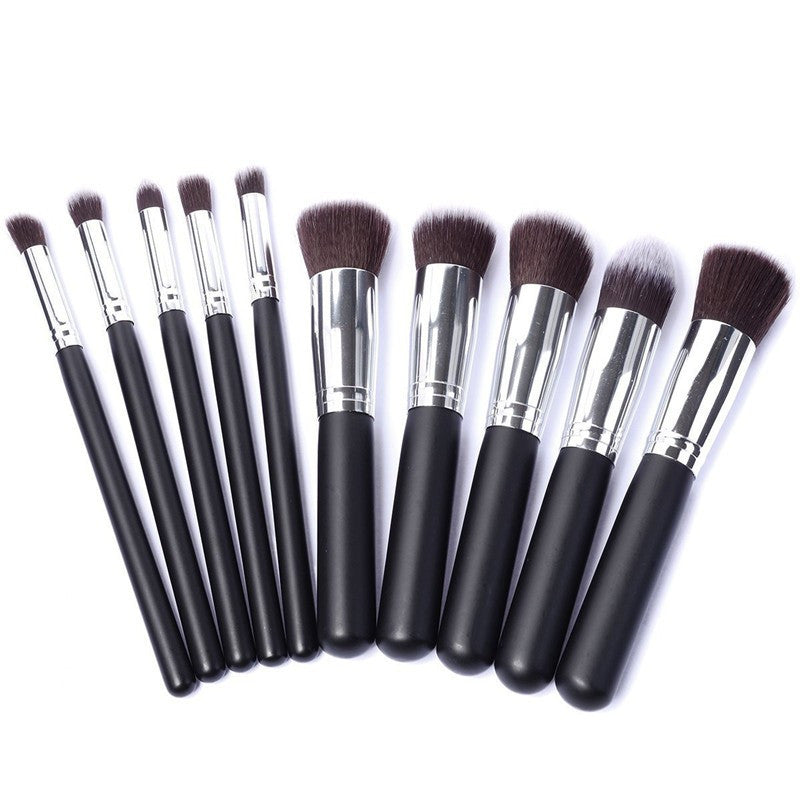 10 Kabuki Essential Brush Set