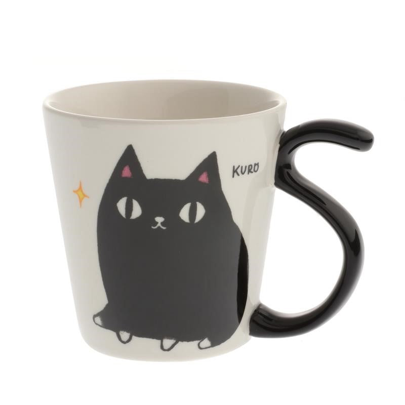 Cat Mug Happy Tails, Assorted Colors