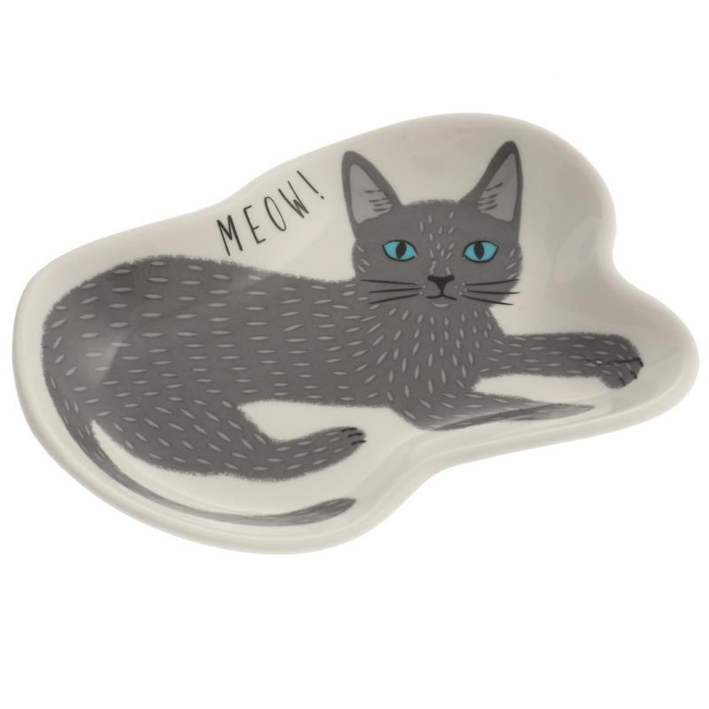 "Cat Plate 4"", Assorted"