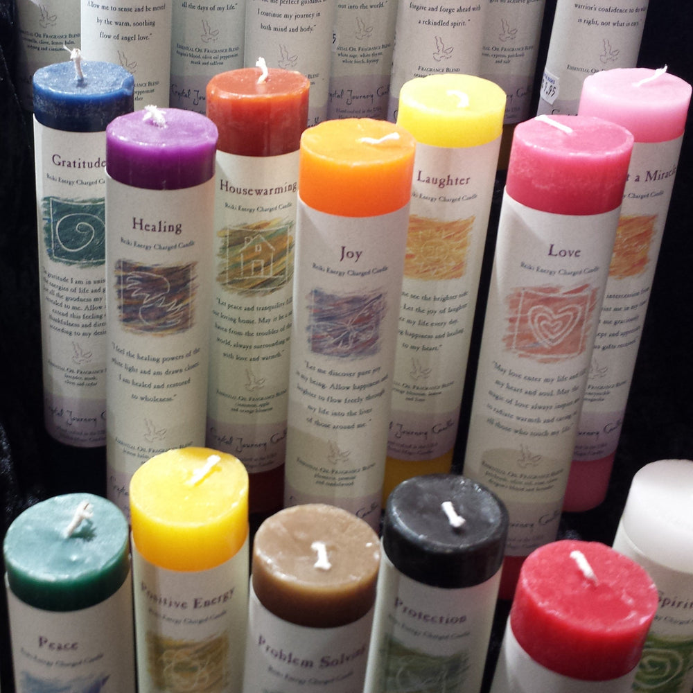 Reiki Pillar Candles