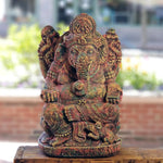 Ganesh Multi-colored statue