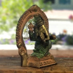 Ganesha with Throne 3.5""