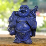 Laughing Buddha Blue 4""