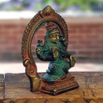 Lakshmi with Throne 3.5""