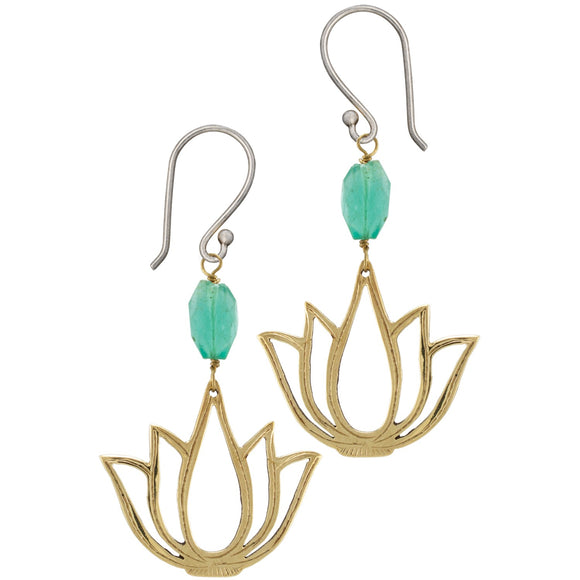 Padma Lotus Earrings