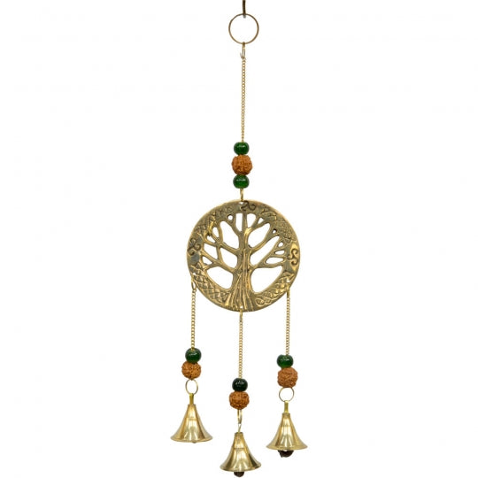 Tree of Life w/ Rudraksha Brass Chime