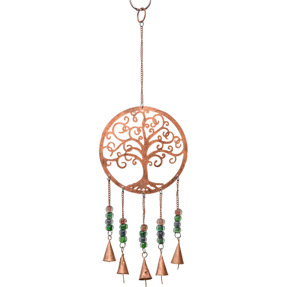 Copper Metal Tree of Life Chime