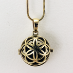 Seed of Life Diffuser Necklace