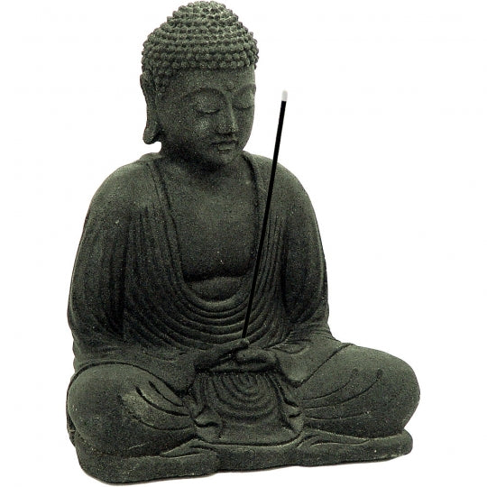 Buddha Lava Stone Incense Holder