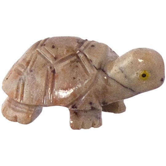 Turtle Hand Carved Dolomite 1.25""