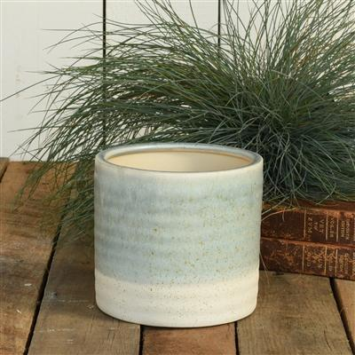 Blue and White Planter, Small