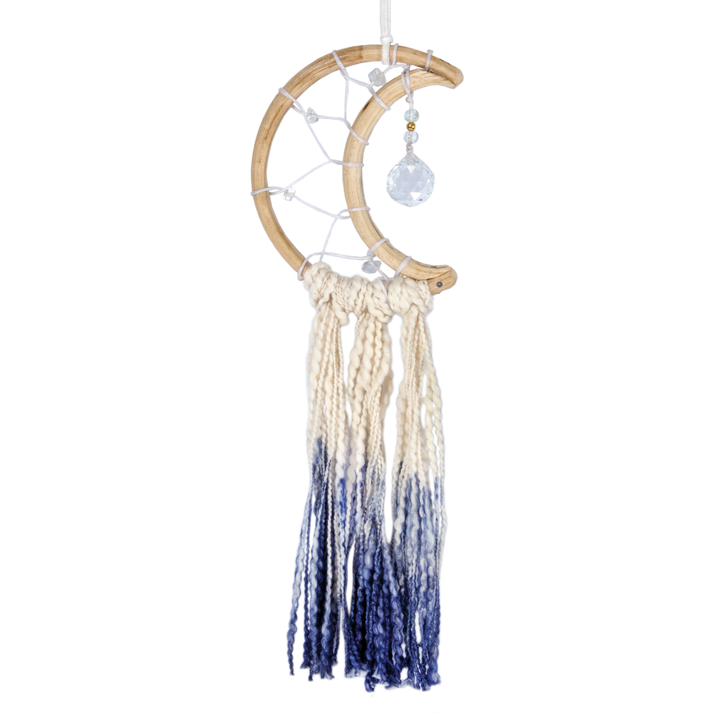 Fair Trade Little Blue Moon Dreamcatcher