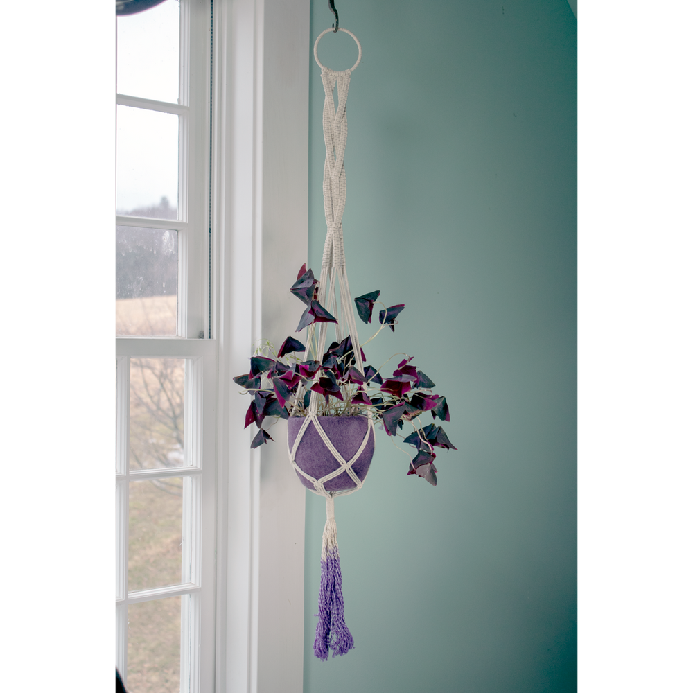 Fair Trade Braided Plant Hanger