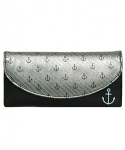 Vegan Leather Anchor Wallet
