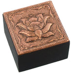 Bronze Lotus Trinket Box