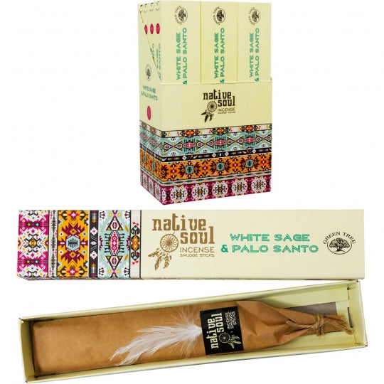 White Sage & Palo Santo Incense