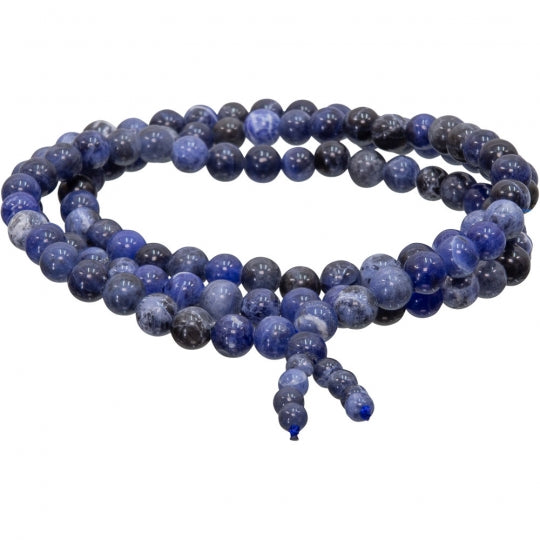 Sodalite Stretch Mala