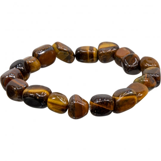 Tumbled Tiger's Eye Bracelet