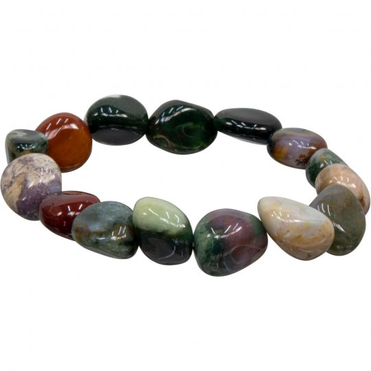 Tumbled Fancy Jasper Bracelet