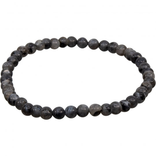 Black Labradorite 4mm Bracelet