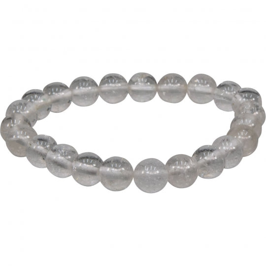 Clear Quartz Bracelet 8mm