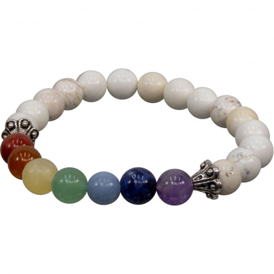 Chakra and Assorted Stone Bracelet
