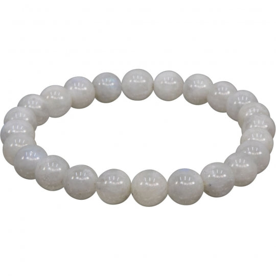 Rainbow Moonstone 8mm Bracelet