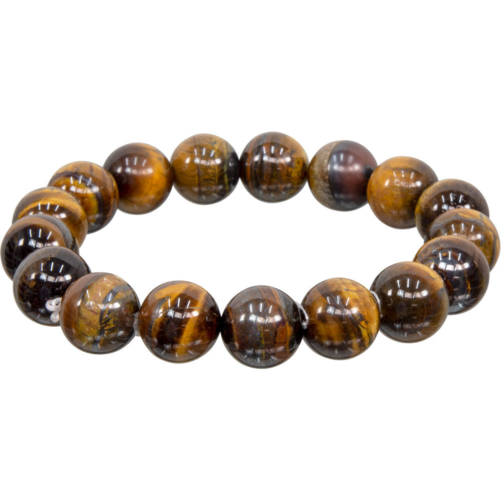 Tiger's Eye 12mm Bracelet