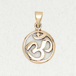 Om Bronze Necklace