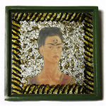 Frida Painted Foil Tile